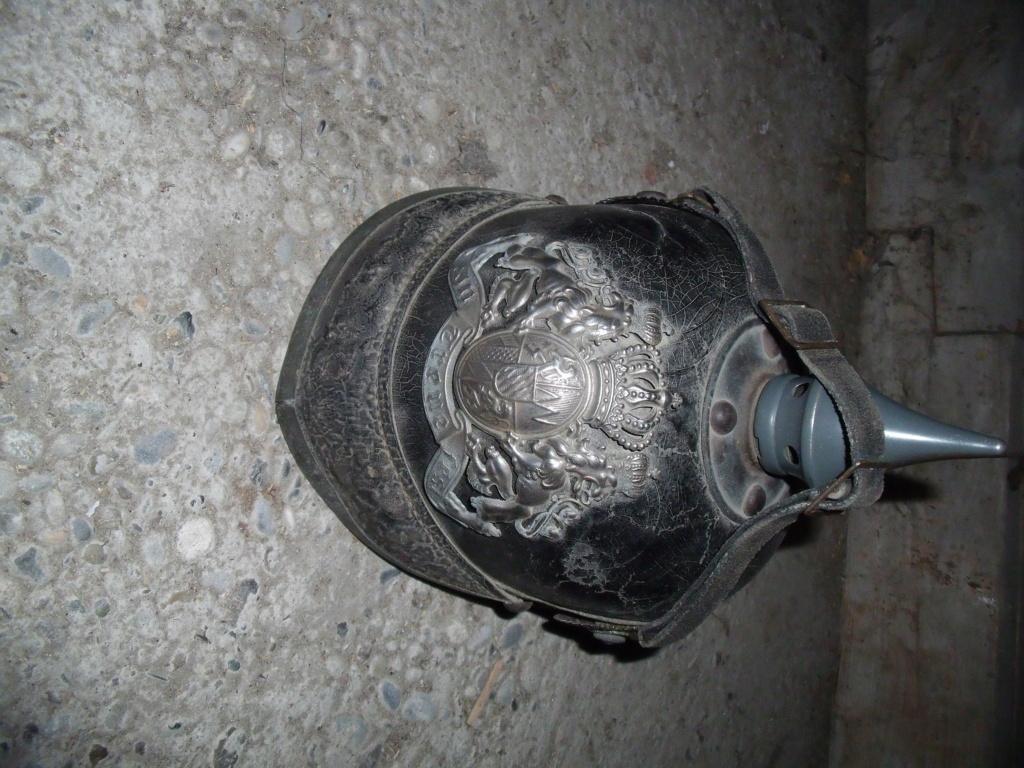 Authentification casque à pointe allemand Dscf1123