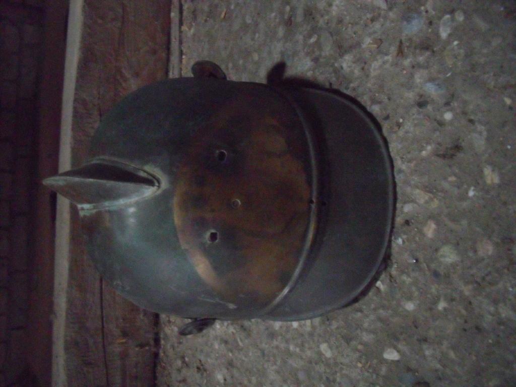 coque casque de pompiers allemand régionnal fin 19e Dscf1311
