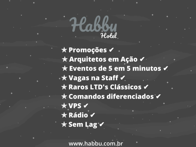 HABBU HOTEL!! | VEM PRA NOSSO HOTEL Habbuo11
