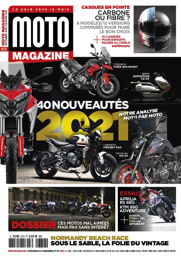 Le Moto Magazine 372 de décembre 2020 - janvier 2021 est en kiosque Arton310