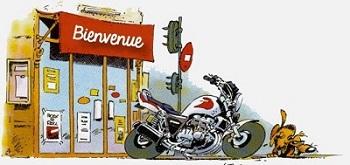 le salut de Mike the bike Bienve41