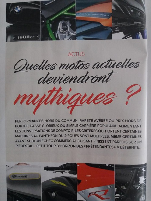 "Hors série MOTO MAGAZINE ""Les motos mythiques"" Thumb150"