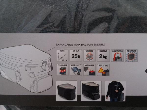 sacoche et tapis reservoir pour Tracer 900 GT Thumbn53