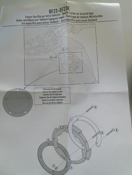 sacoche et tapis reservoir pour Tracer 900 GT Thumbn58