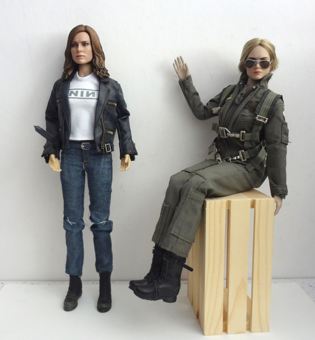 SWToys - NEW PRODUCT: Swtoys FS028 1/6 Scale Danvers figure Dsc00925