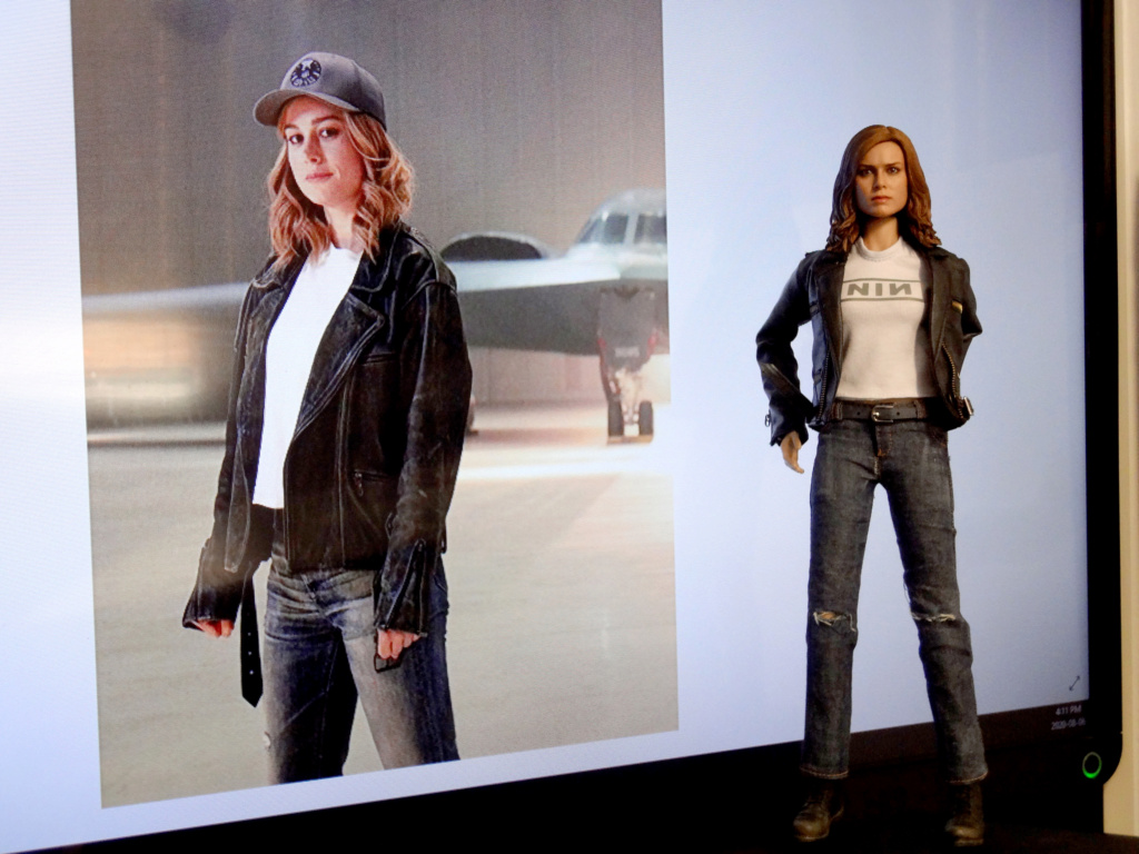SWToys - NEW PRODUCT: Swtoys FS028 1/6 Scale Danvers figure Dsc00926