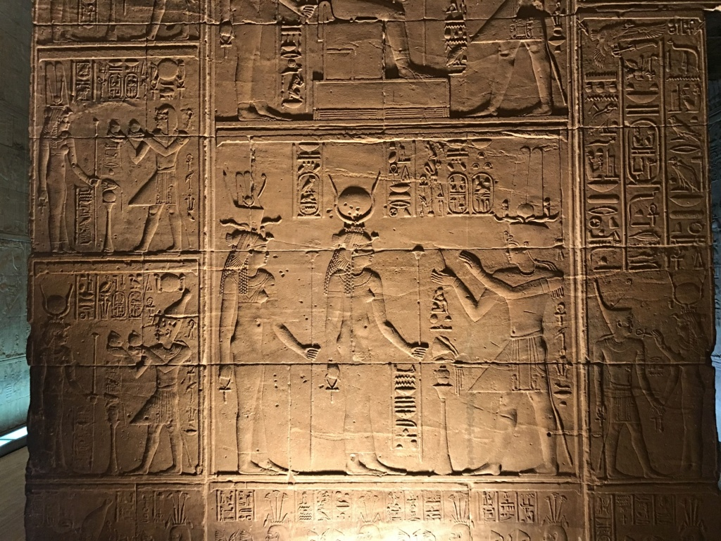 Asetian Temple at Philae: One Wall 9f13b510