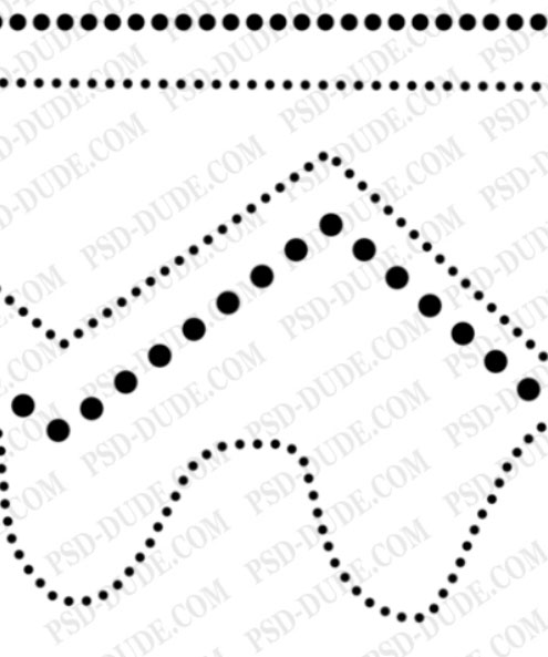 Dotted line Photoshop Dotted10