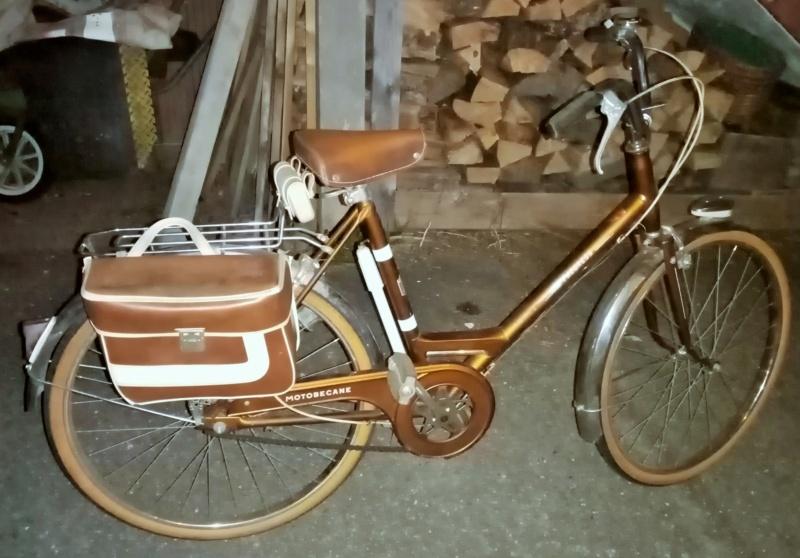 mini-vélo MOTOBECANE PROGRESS marron 1974  00324