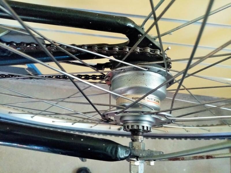 """vélo de ville PEUGEOT 1999""""outdoor"""" en SHIMANO nexus 4  00416"""