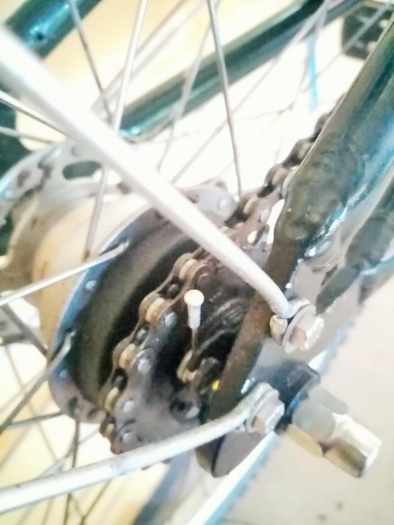 """vélo de ville PEUGEOT 1999""""outdoor"""" en SHIMANO nexus 4  00713"""