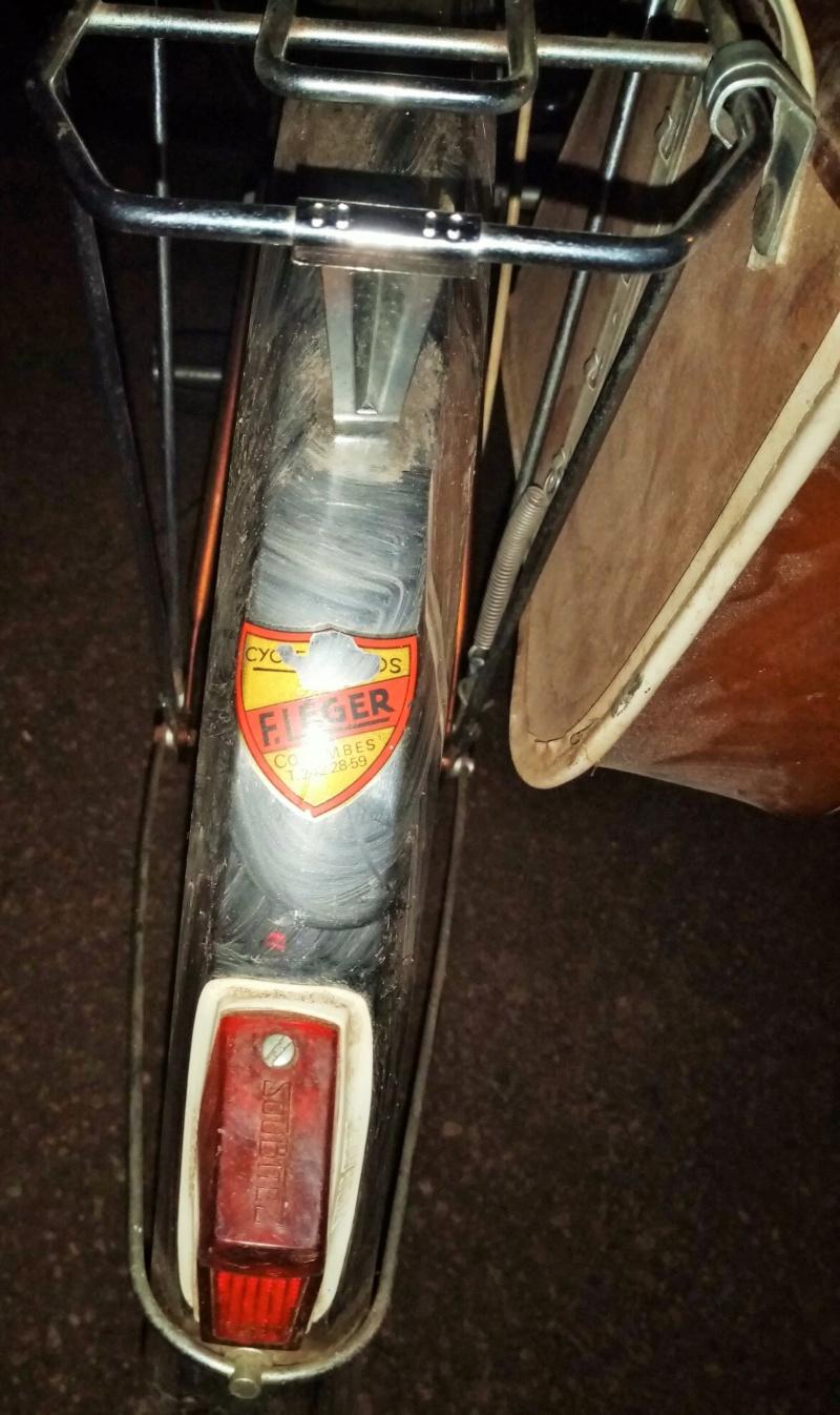 mini-vélo MOTOBECANE PROGRESS marron 1974  00717