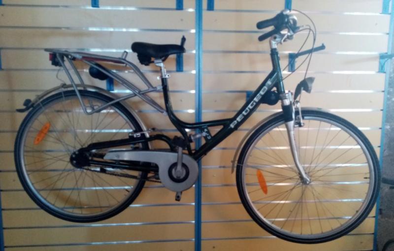 """vélo de ville PEUGEOT 1999""""outdoor"""" en SHIMANO nexus 4  00817"""