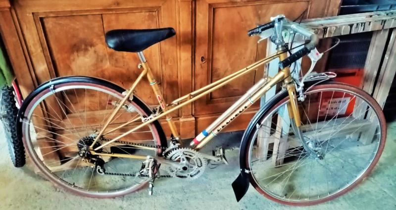 vélo dame PEUGEOT PR 65 LADY  doré de 1978-79 neuf  00919