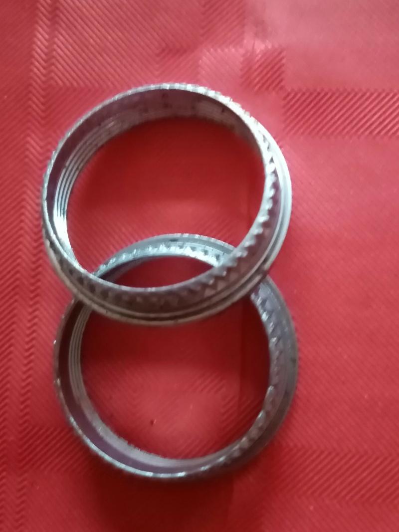 roue arrière HELICOMATIC  , montage de la RL + rondelle de fermeture + clef  02416