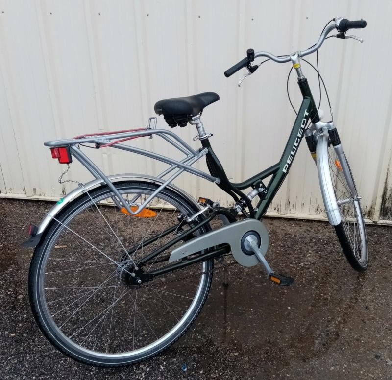 """vélo de ville PEUGEOT 1999""""outdoor"""" en SHIMANO nexus 4  02619"""