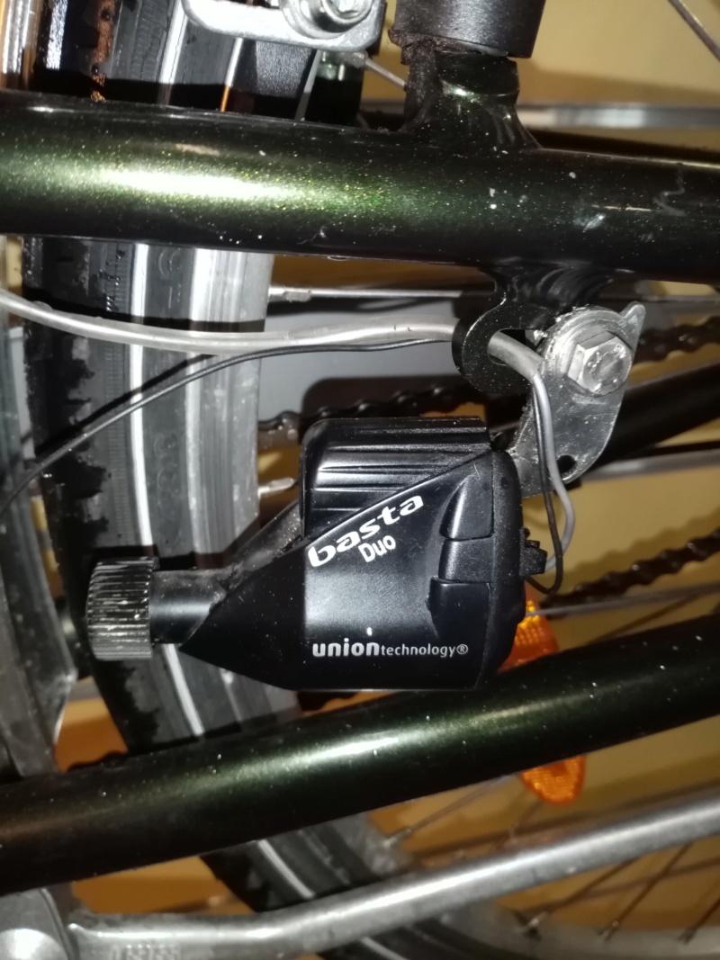 """vélo de ville PEUGEOT 1999""""outdoor"""" en SHIMANO nexus 4  03417"""
