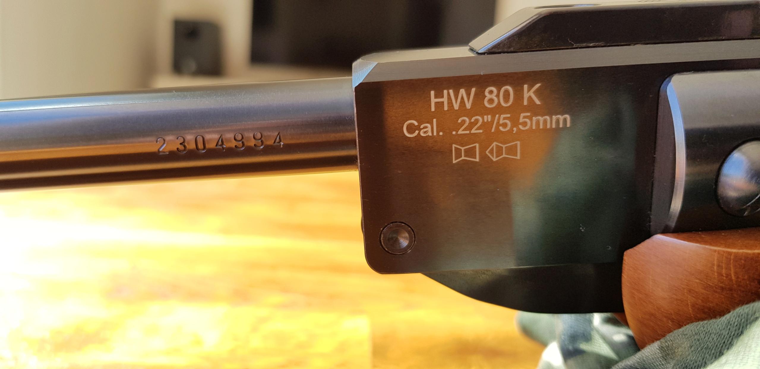 Weihrauch HW80K .22 20200726