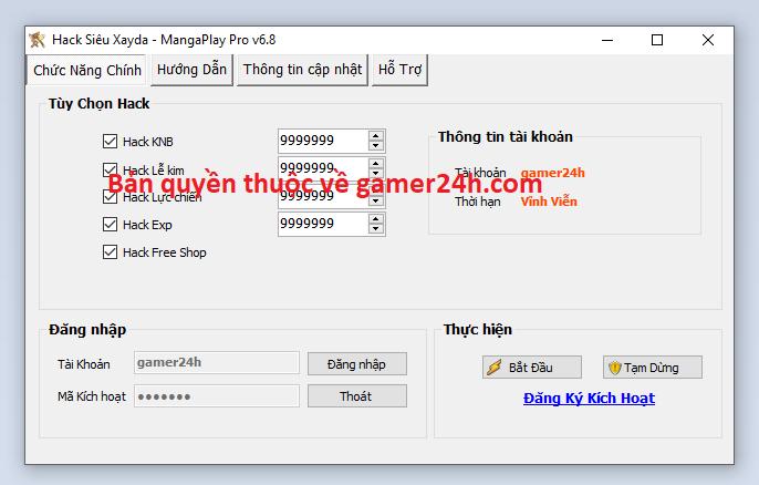 Hack Siêu Xayda - MangaPlay miễn phí Siuaya10