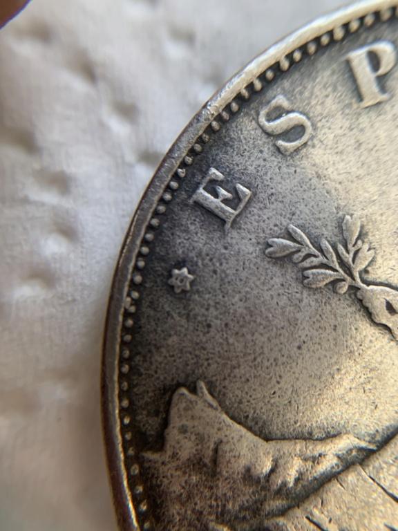 5 pesetas de 1870 FALSA 29376a10