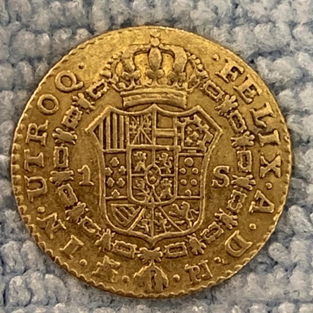 1 escudo de Carlos III 66394010