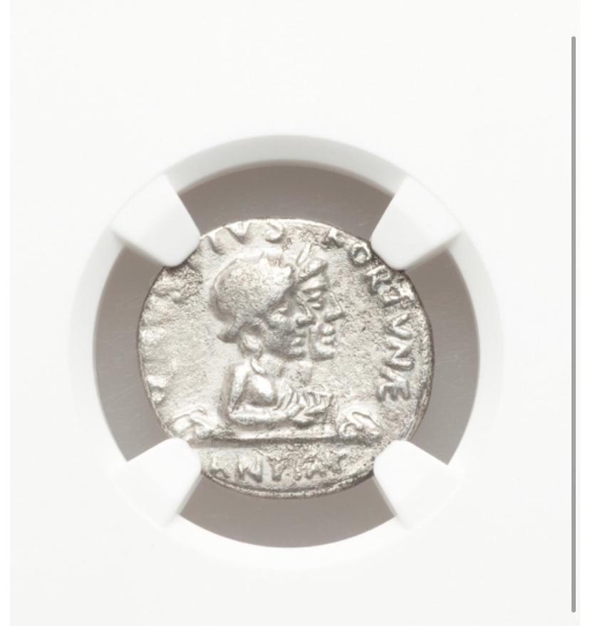 Subasta de Heritage. Denario de Augusto 96818f10