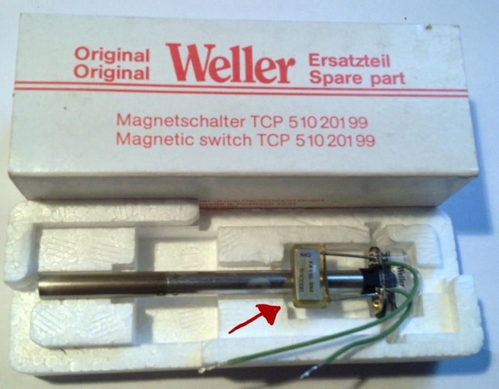 Composant fer à souder Weller w101  S-l16010