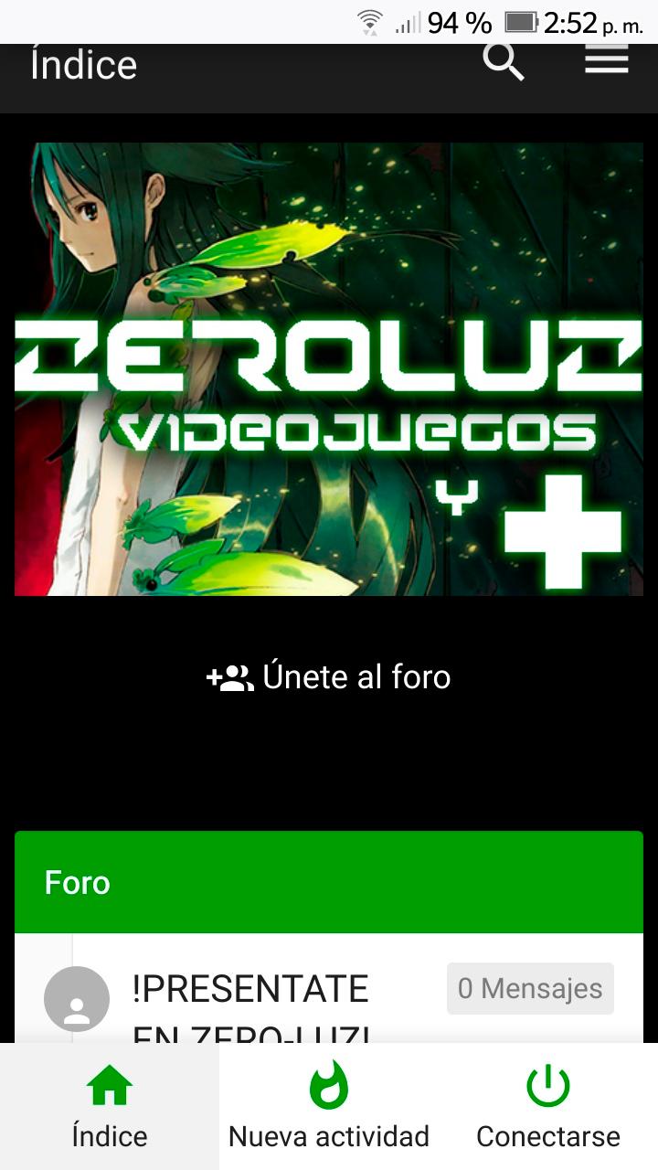 zeroluz regresa este año 2021! Lista de cambios del foro y el portal. Post en actualizacion constante Sin-tz10