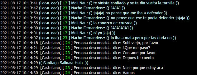 [Reporte] Nacho Fernandeez. Por DM Captur13