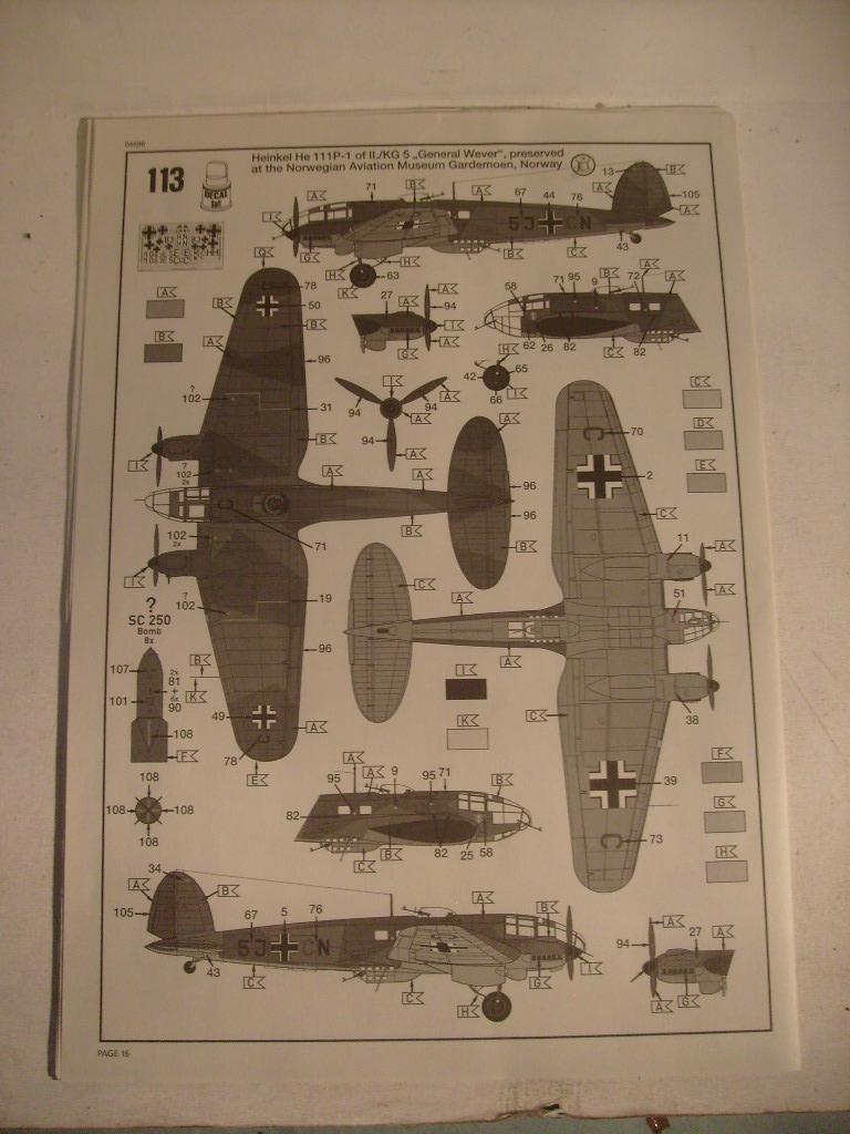 [Revell] heinkel 111P-1 au 32 eme S7301233
