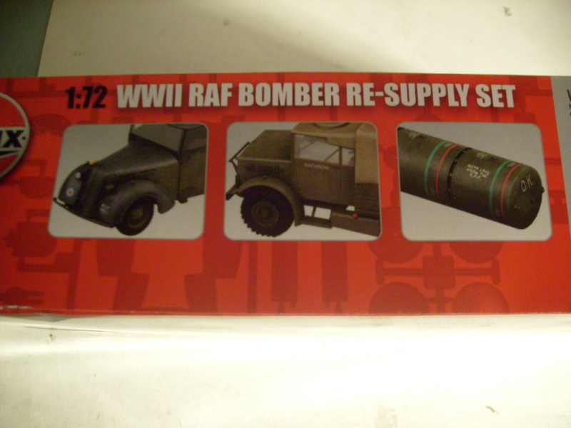 [Airfix] WWII RAF Bomber re-supply set S7301491