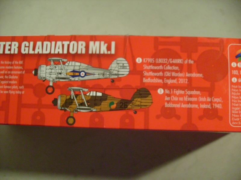 Comparatif GLOSTER GLADIATOR 1/72ème S7302388