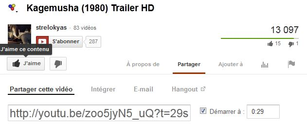 """[BBcode] Garder le paramètre """"start"""" pour les bbcode youtube et dailymotion Captur10"""