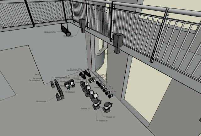 Google Sketch Up... Les plans de feu 3D Save111