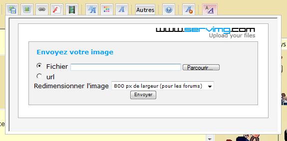 Comment ajouter des images sur le forum 0310