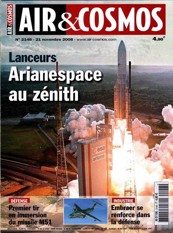 """Revues : """"Air et cosmos"""" numéro 2148"""" Air_et14"""