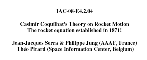 Casimir-Erasme Coquilhat, père de l'astronautique ? Image_10