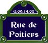 Rue de Poitiers
