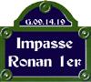Impasse Ronan 1er