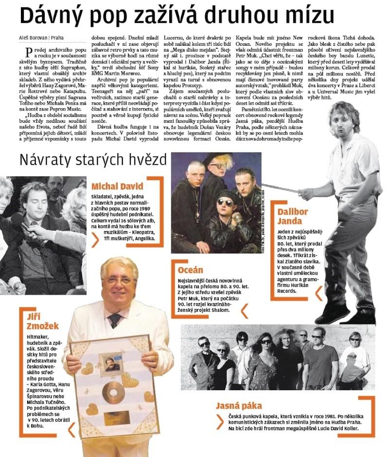 Češi se vracejí k hitům staré popmusic Stare_12