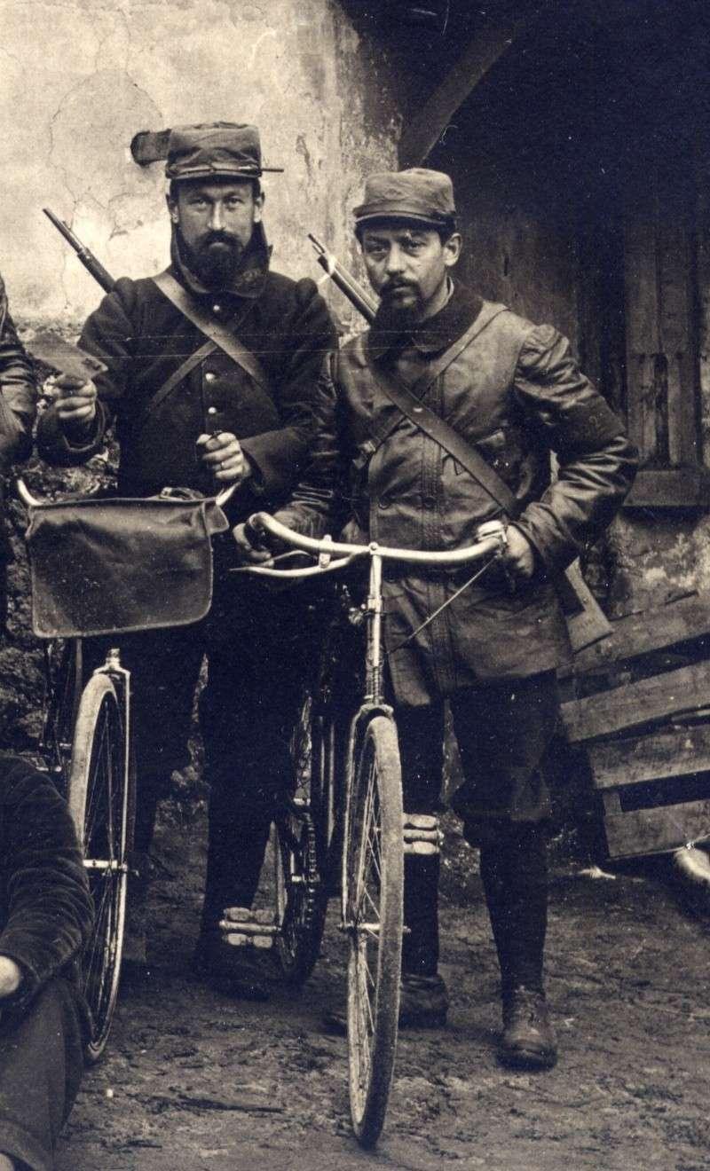 Cyclistes de la 126 em brigade d'infanterie Feb22111