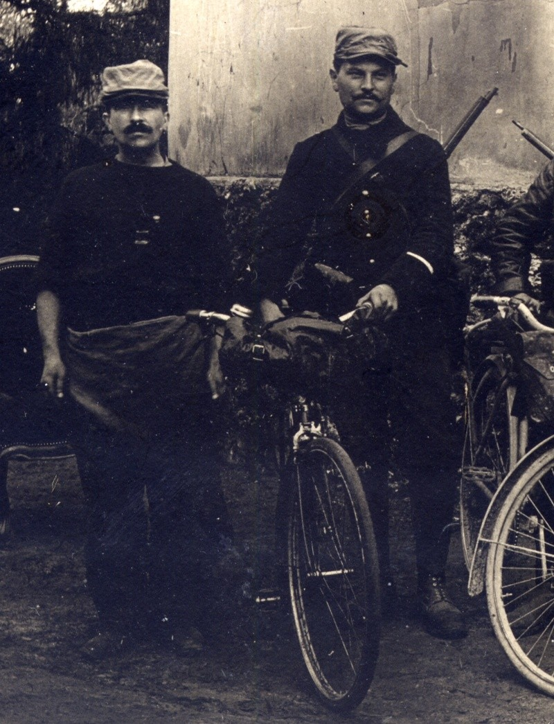 Cyclistes de la 126 em brigade d'infanterie Feb22113