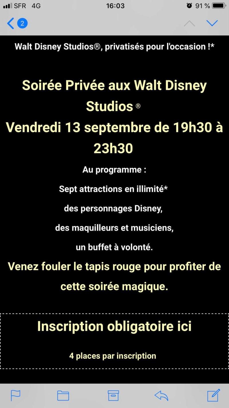 [Soirée PA] La Nuit des Personnages Disney (13 septembre 2019) - Page 7 69518110