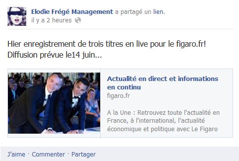 Messages d'Elodie Frégé Management sur Facebook - Page 23 111