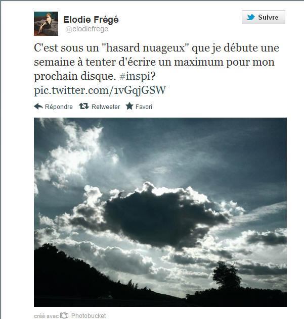 Messages d'Elodie Frégé sur Facebook (de Août 2013 à Avril 2014) 12150510
