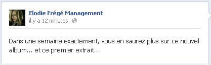 Messages d'Elodie Frégé Management sur Facebook - Page 23 13080410