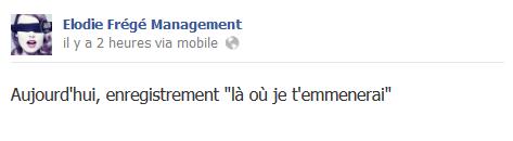 Messages d'Elodie Frégé Management sur Facebook - Page 23 210