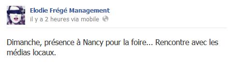 Messages d'Elodie Frégé Management sur Facebook - Page 23 311