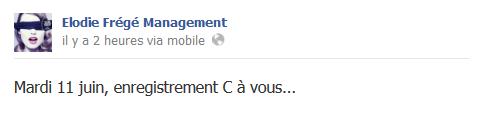 Messages d'Elodie Frégé Management sur Facebook - Page 23 411