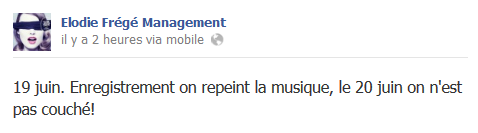 Messages d'Elodie Frégé Management sur Facebook - Page 23 510
